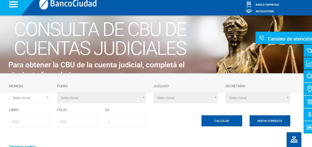 Cómo Consultar Saldo en Cuenta Judicial Por Internet
