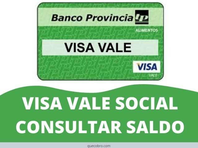 consultar saldo tarjeta visa vale social