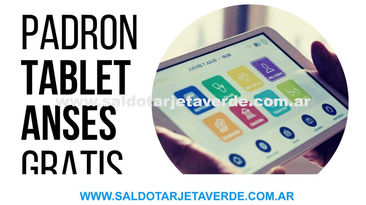 ¿Como Saber si me Toca Tablet ANSES del Gobierno?