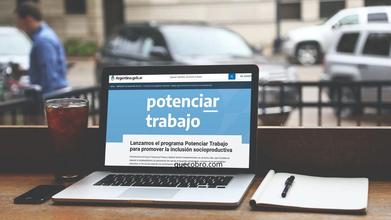 inscripción para promover el trabajo